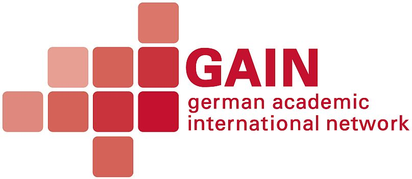 Logo of the GAIN network.