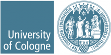 Logo of the University of Cologne.