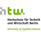 Logo of the Berlin University of Applied Science.