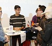 A Young Ambassador promoting studies in Germany to fellow students.