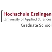 Logo of the Esslingen University of Applied Sciences Graduate School.