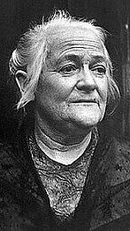 Photo of Clara Zetkin.
