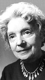 Photo of Nelly Sachs.