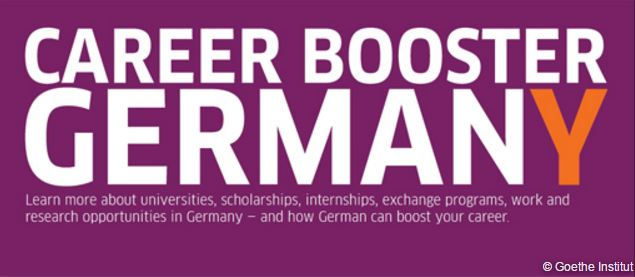 Logo of the Career Booster Germany.