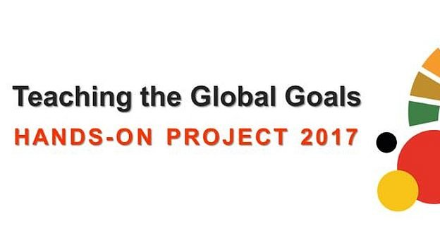 Logo of the 2017 Teaching the Global Goals project.
